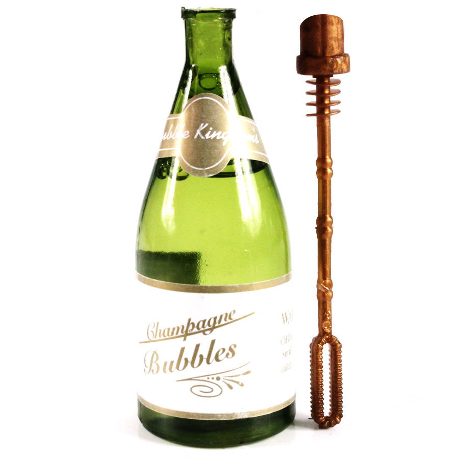 Bolha de Sabão Garrafa de Champagne - 9cm