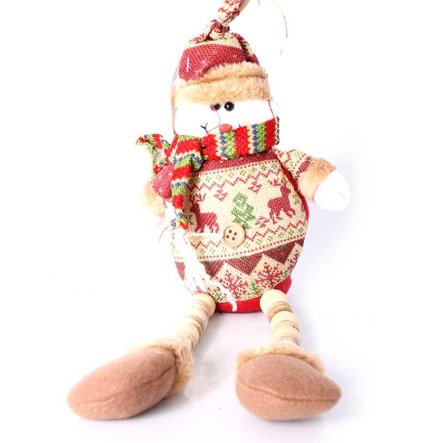Boneco de Neve ou Papai Noel para Enfeite - Aluá Festas b2636abd39