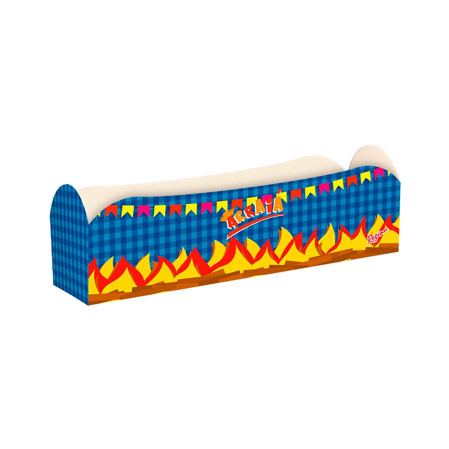 Caixa Para Hot Dog Arraiá Un