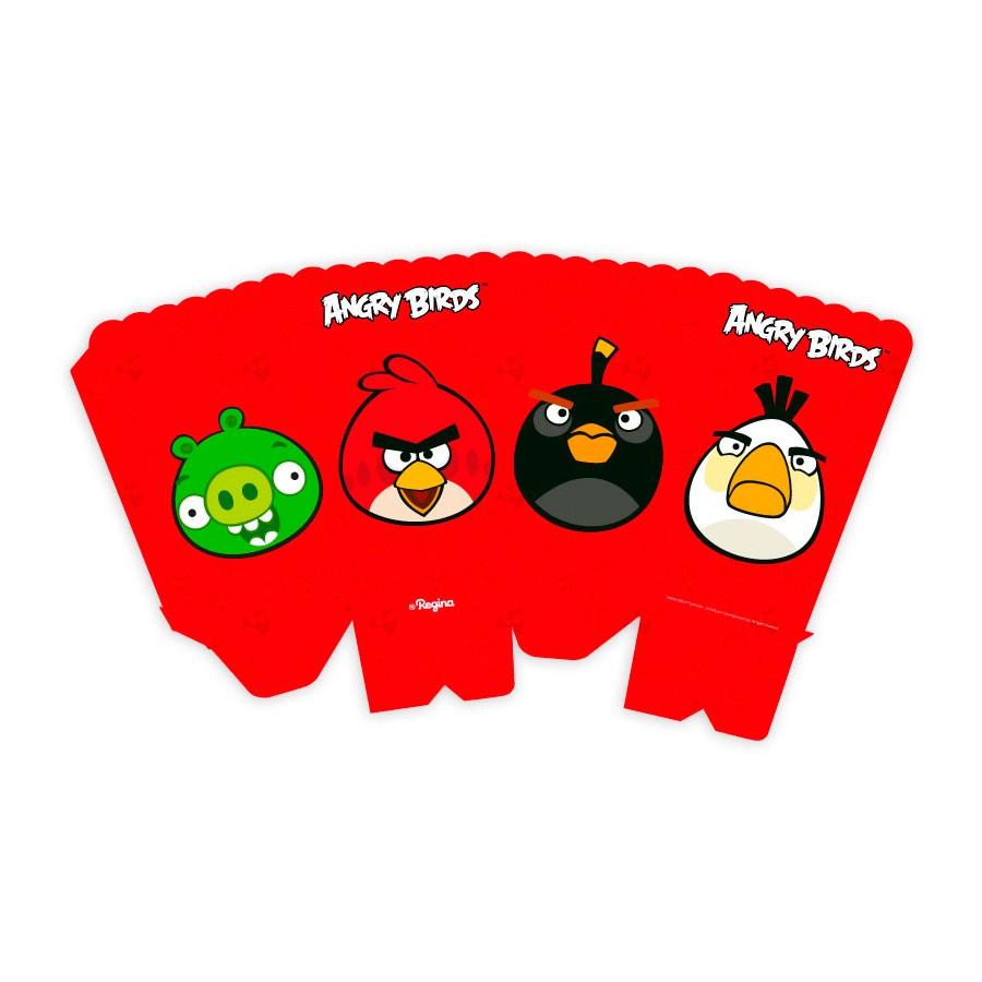 Caixa Para Pipoca Angry Birds 8Un