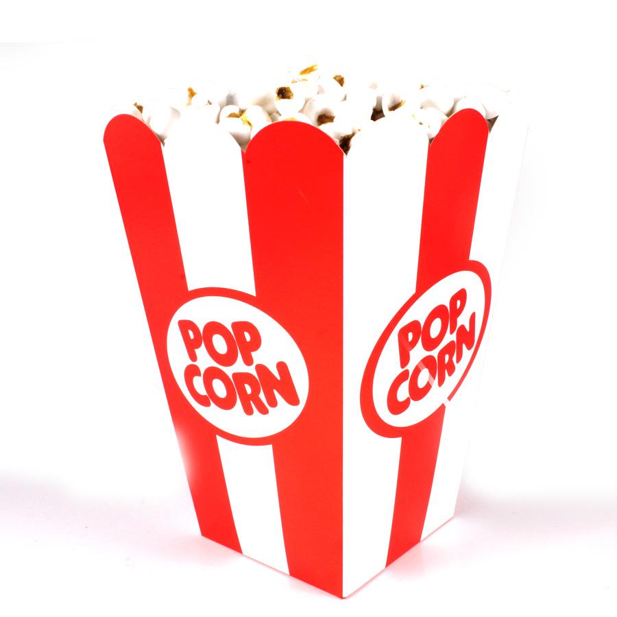 Caixa Para Pipoca Pop Corn 8Un