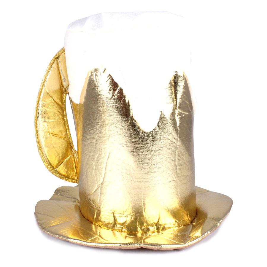 Cartola Caneca de Chopp Luxo Dourada