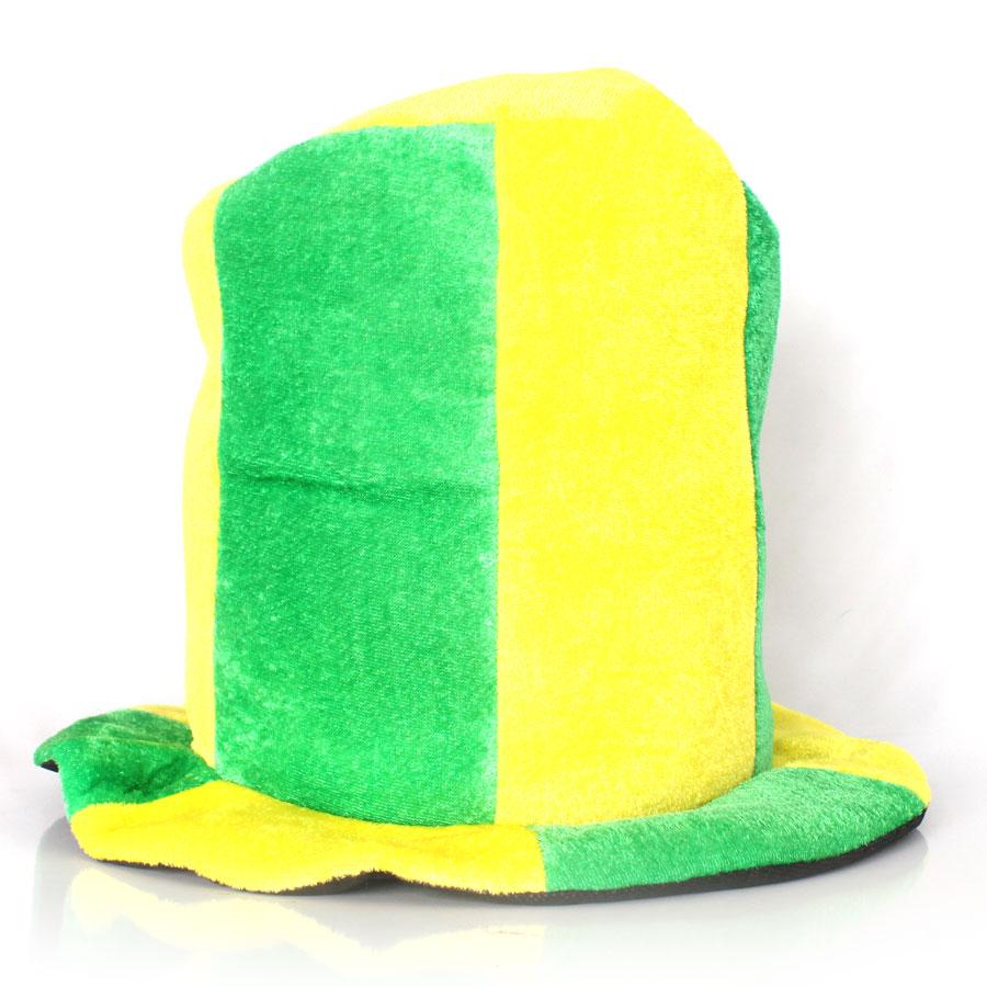 Cartola Verde e Amarela Listrada Copa 2018