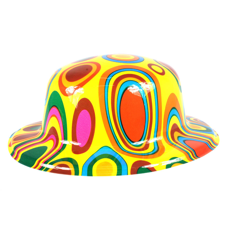 Chapéu de Plástico Colorido - Modelos Sortidos - Aluá Festas 13c50b3ddb0