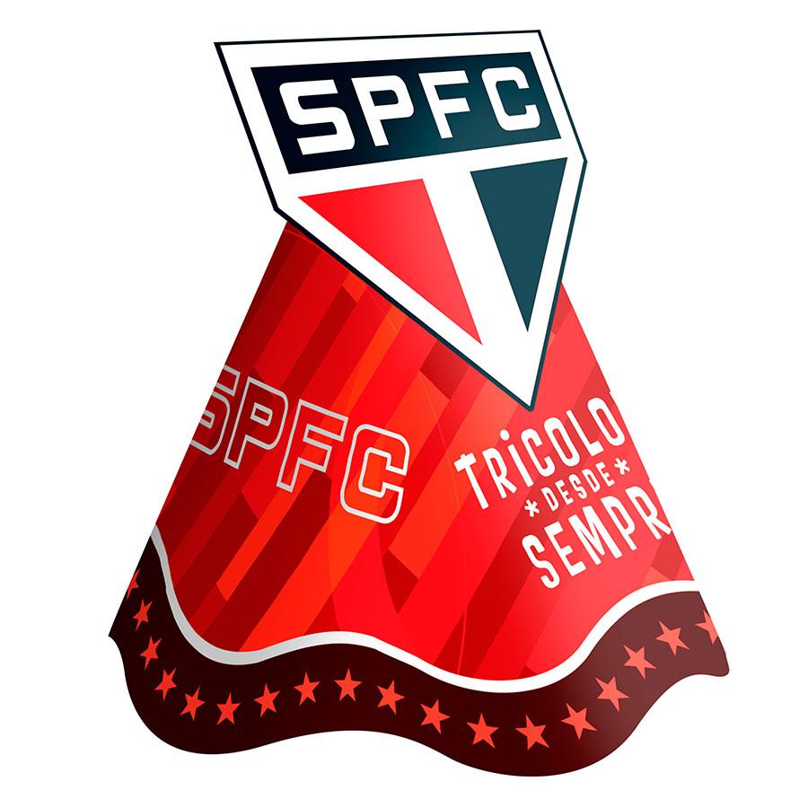 Chapéu Aniversário São Paulo 8Un