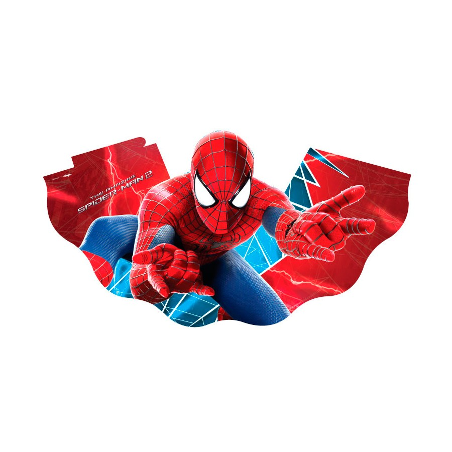 Chapéu Aniversário Homem Aranha 8Un