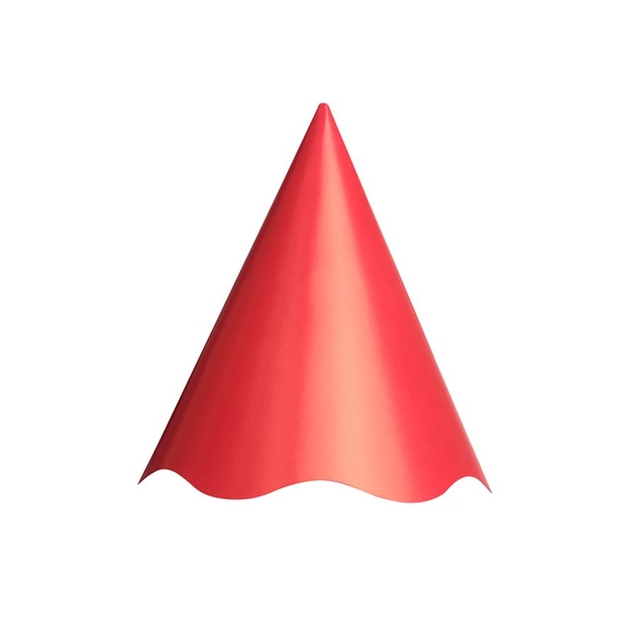 Chapéu Aniversário Vermelho 8Un