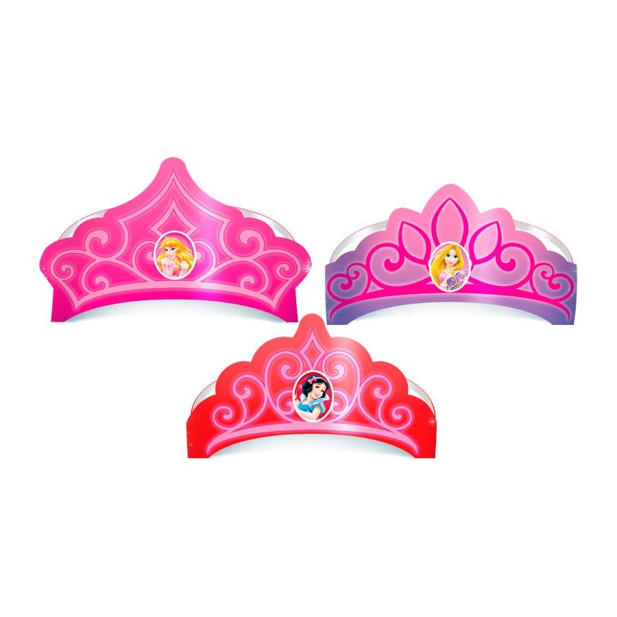 Chapéu Coroa Princesas 6Un