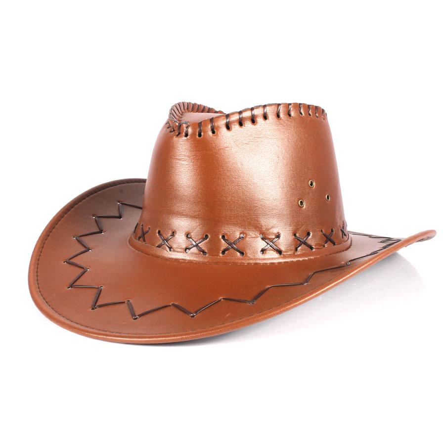 Chapéu Cowboy Marrom Claro - Aluá Festas 287c7e0ff23
