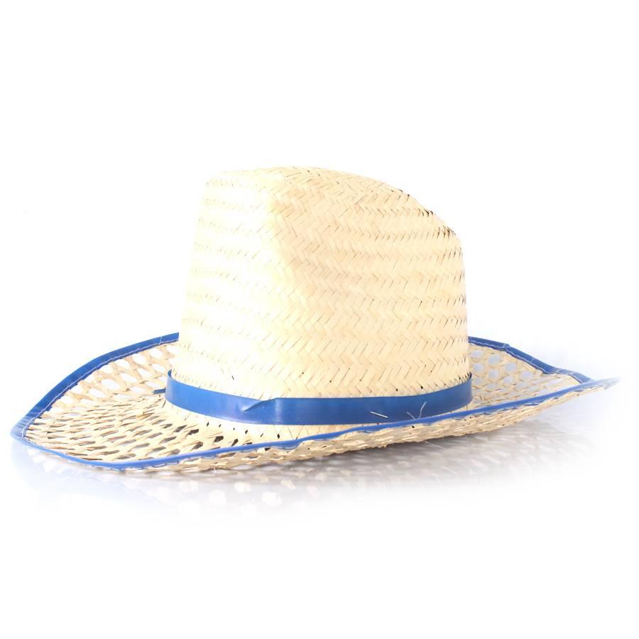 Chapéu de Palha Country com Aba Vazada - Cores Sortidas - Aluá Festas 8680e4b88c5