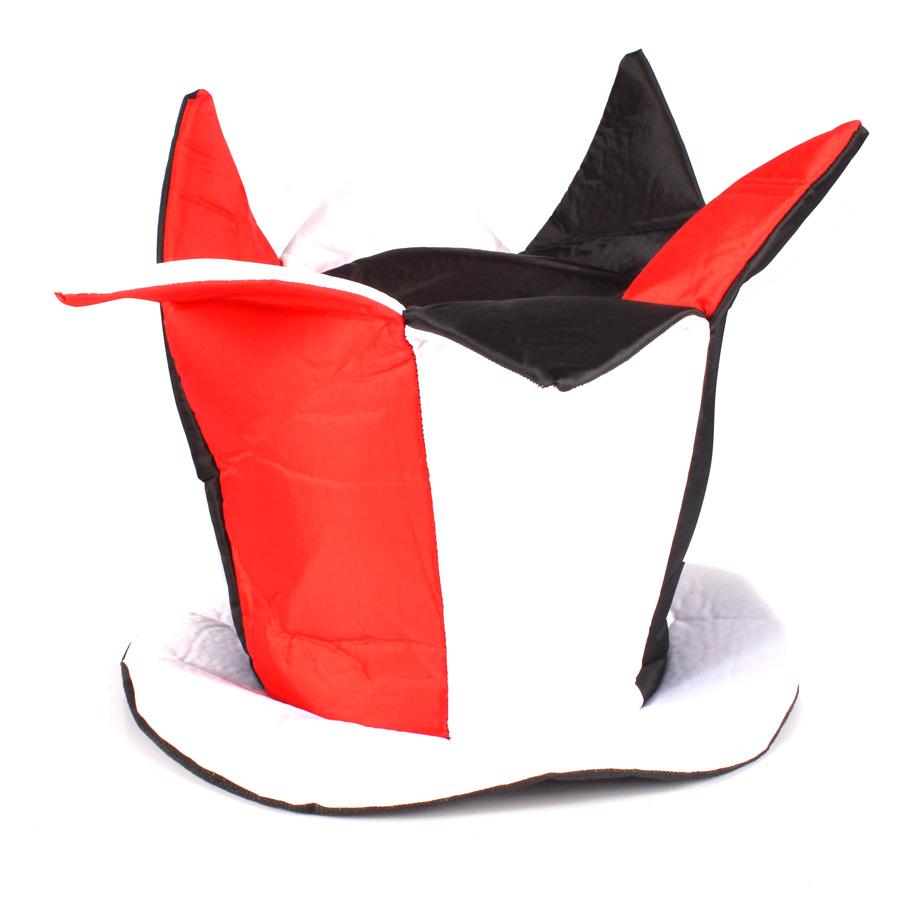 Chapéu Folia Vermelho, Preto E Branco