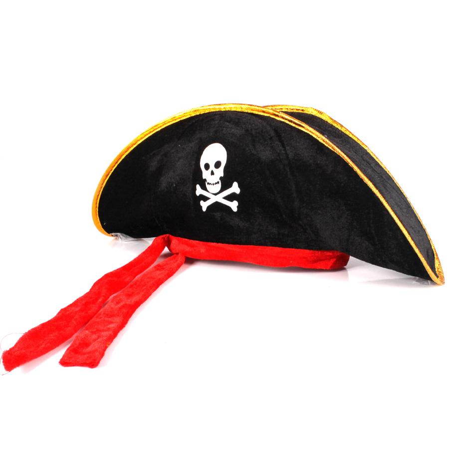 Chapéu de Pirata com Faixa