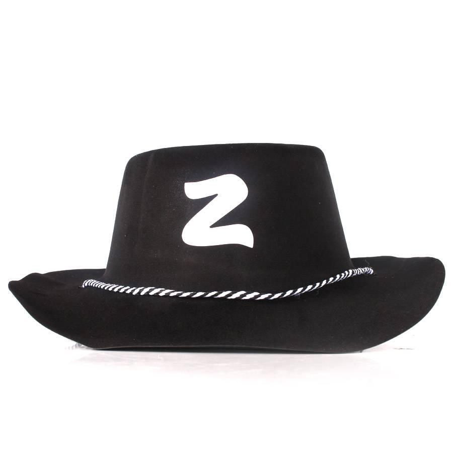 99692fd2d6b16 Chapéu Zorro Country com Camurça Sintética - Diversas Cores - Aluá Festas