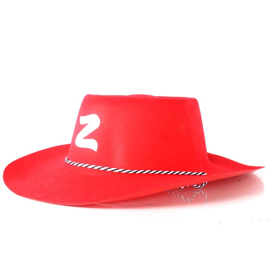 Chapéu Zorro Country com Camurça Sintética - Diversas Cores