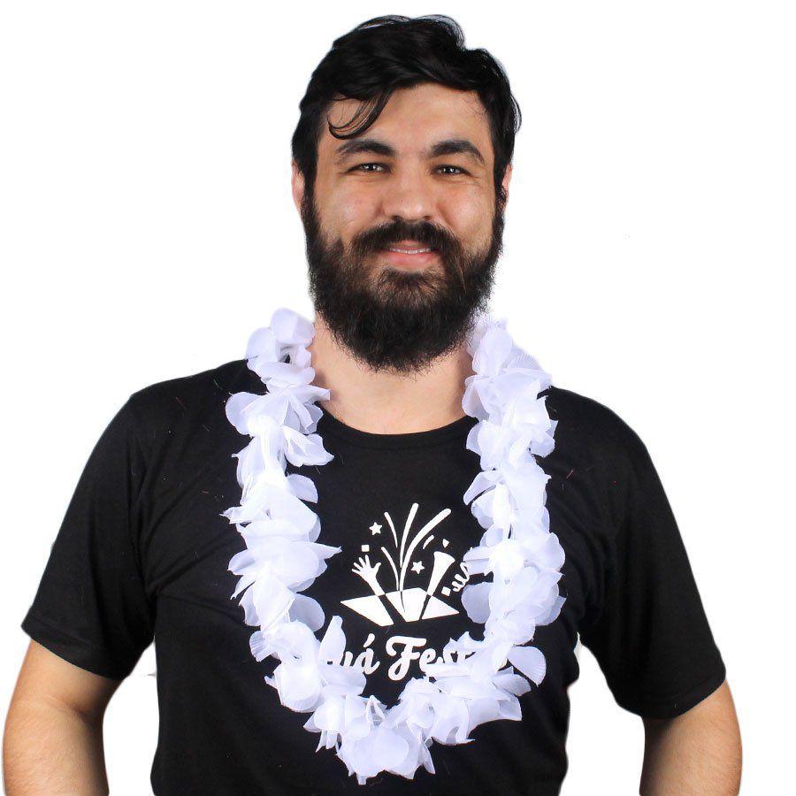 Colar Havaiano de Tecido Diversas Cores