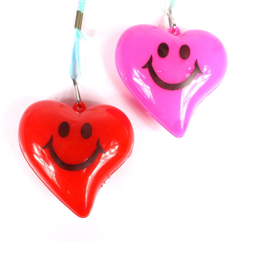 Colar Pisca Coração Vermelho