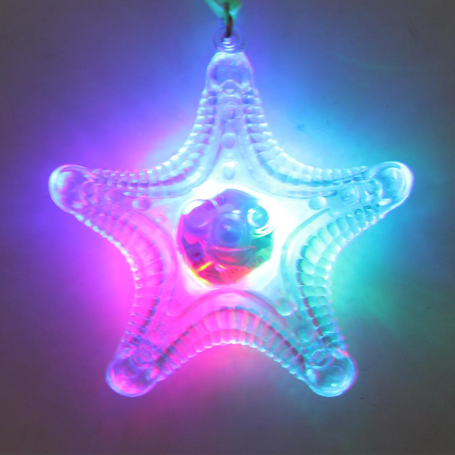 Colar Pisca Estrela do Mar Transparente