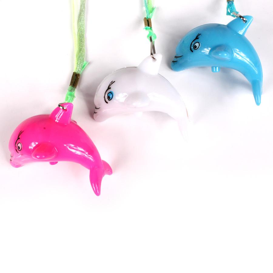 Colar Pisca Golfinho Colorido