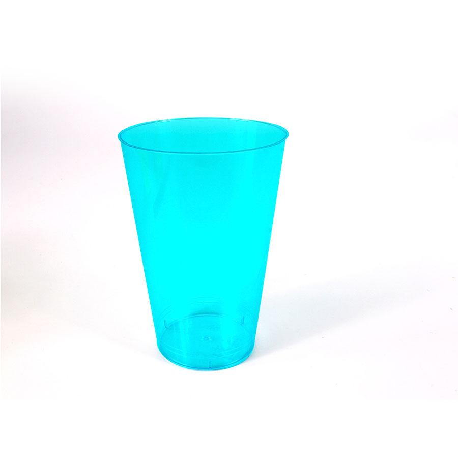 Copo Acrílico Azul 300ml - 10 Unidades