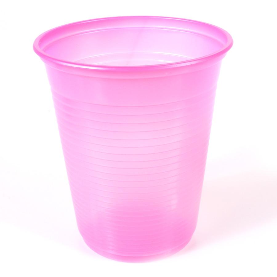 Copo Descartável 200Ml Pink 50Un