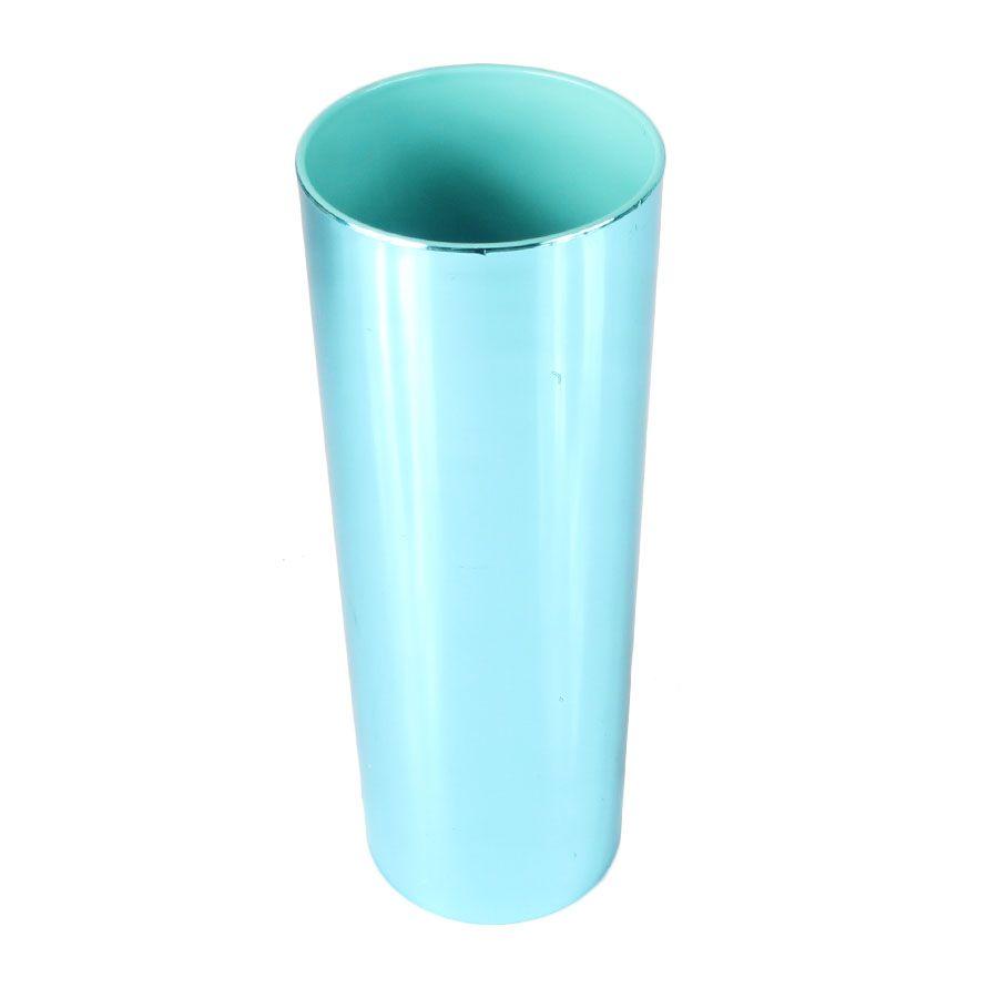 Copo Long Drink Tiffany Metalizado  360ml