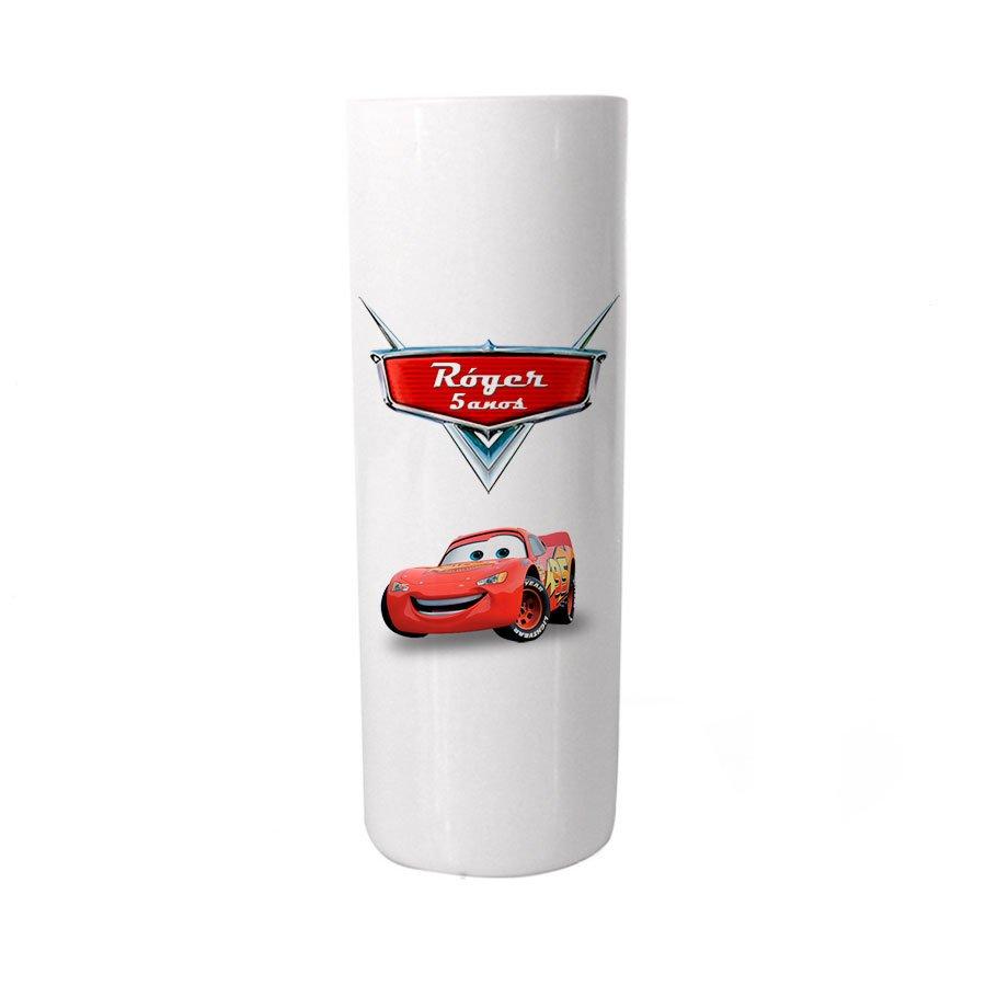 Copo Personalizado Branco Carros Colorido
