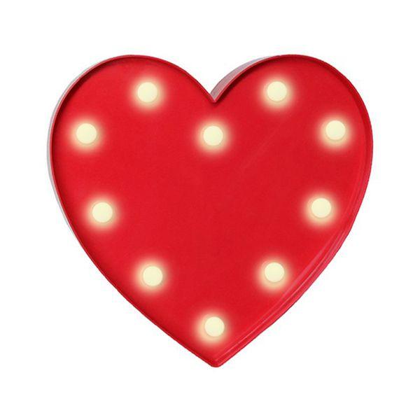 Coração em Led Luminoso Vermelho