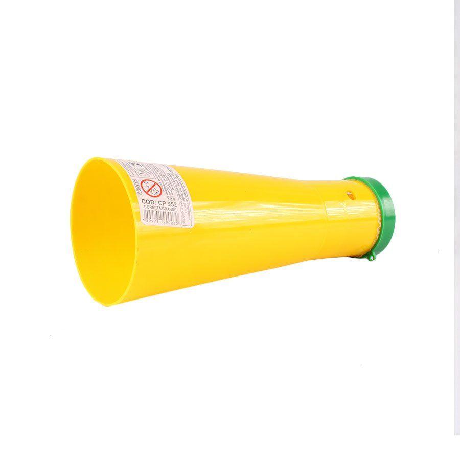 Corneta Verde e Amarela Brasil 18,5cm