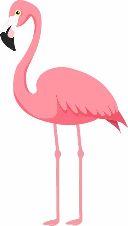 Display do Flamingo para Decoração de Mesa