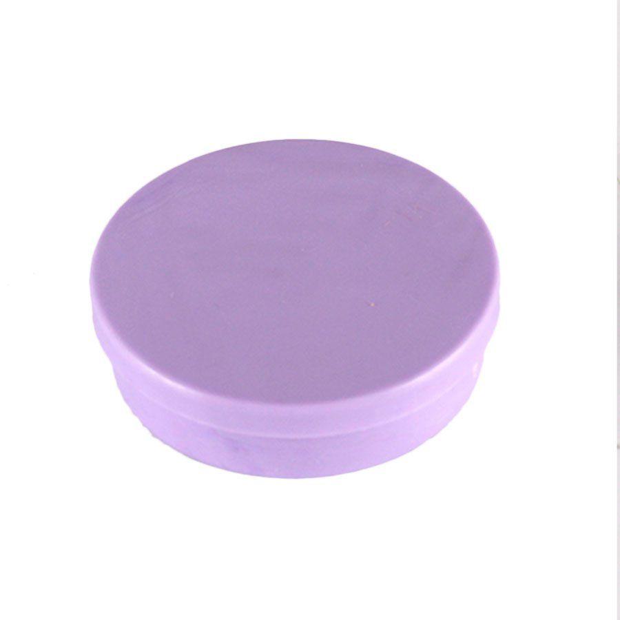 Potinho de Plástico para Personalizar Lilás