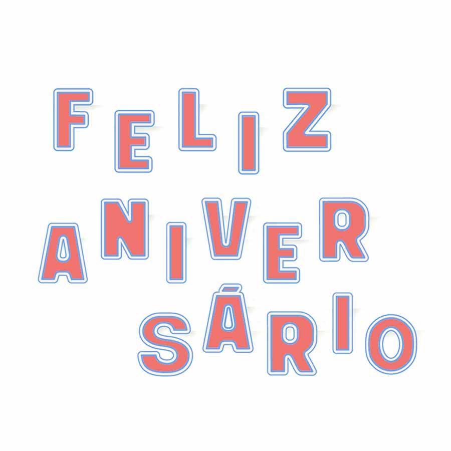 daa0642a67188 Faixa Feliz Aniversário Rosa - Aluá Festas
