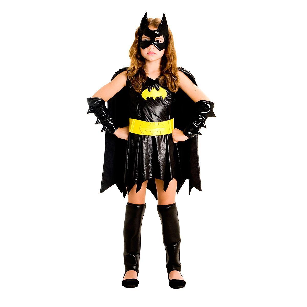 Fantasia Batgirl Infantil Luxo
