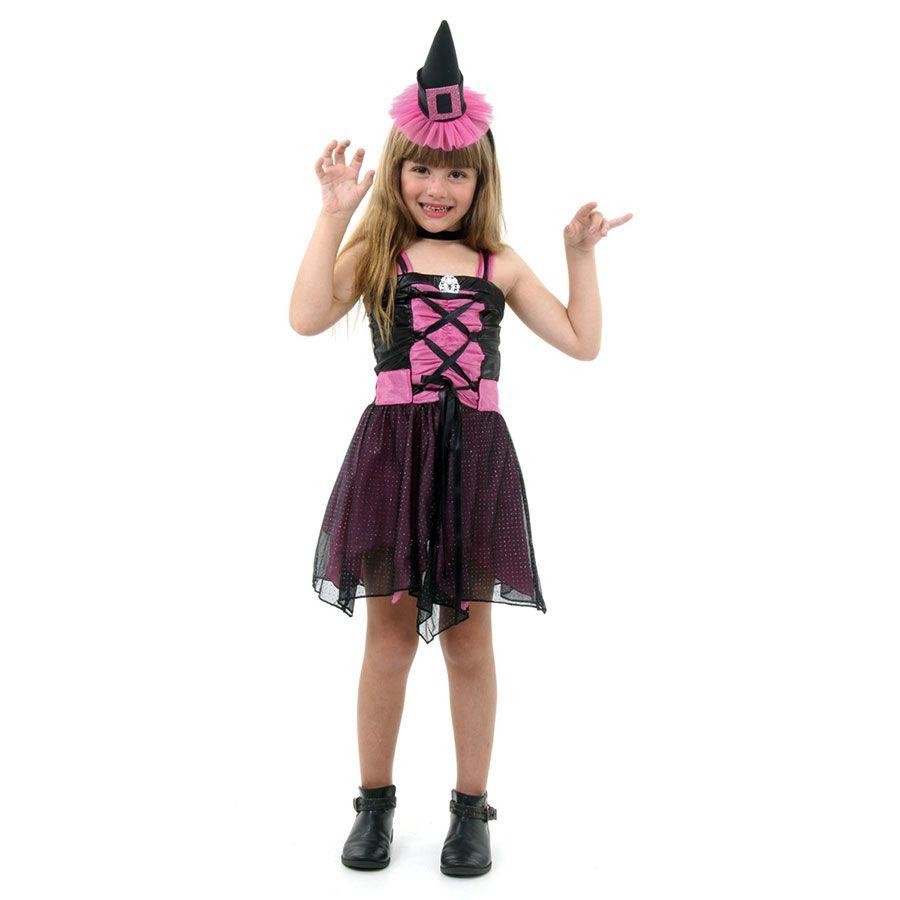 Fantasia Bruxa Aranha Fashion