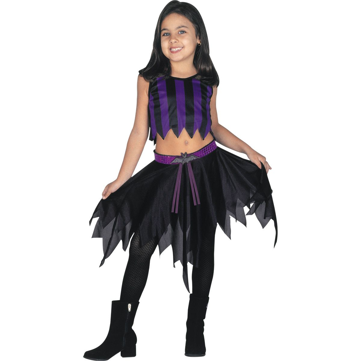 Fantasia Vampira com Morcego Infantil