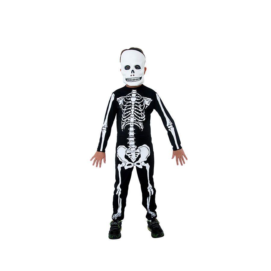 Fantasia de Esqueleto Infantil