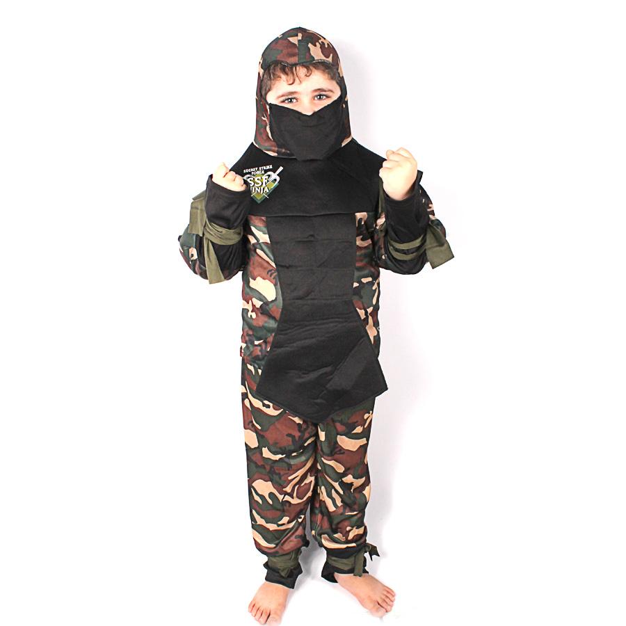 Fantasia Infantil Super Force Ninja
