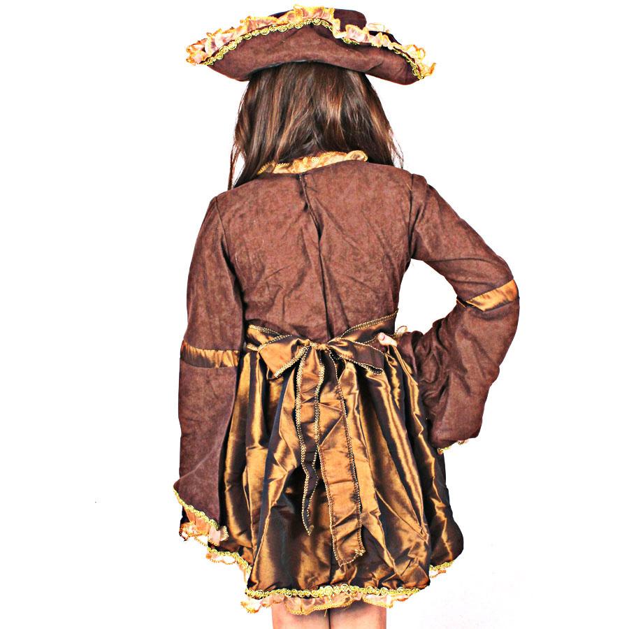 Fantasia Infantil Vestido de Pirata