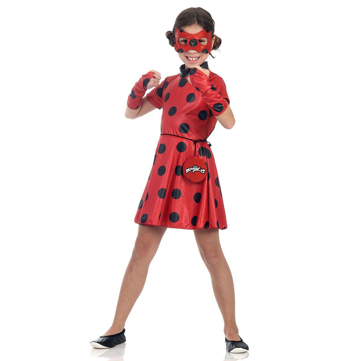 Fantasia LadyBug Vestido