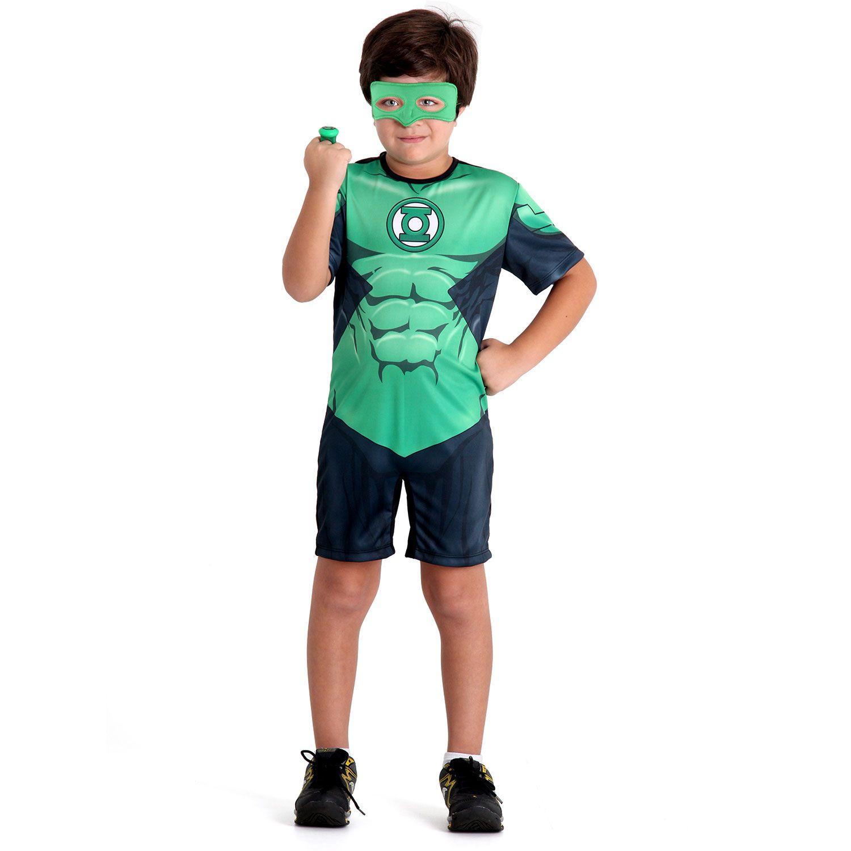 Fantasia Lanterna Verde Curto