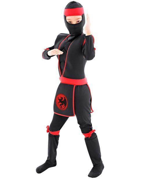 Fantasia Ninja Infantil Luxo