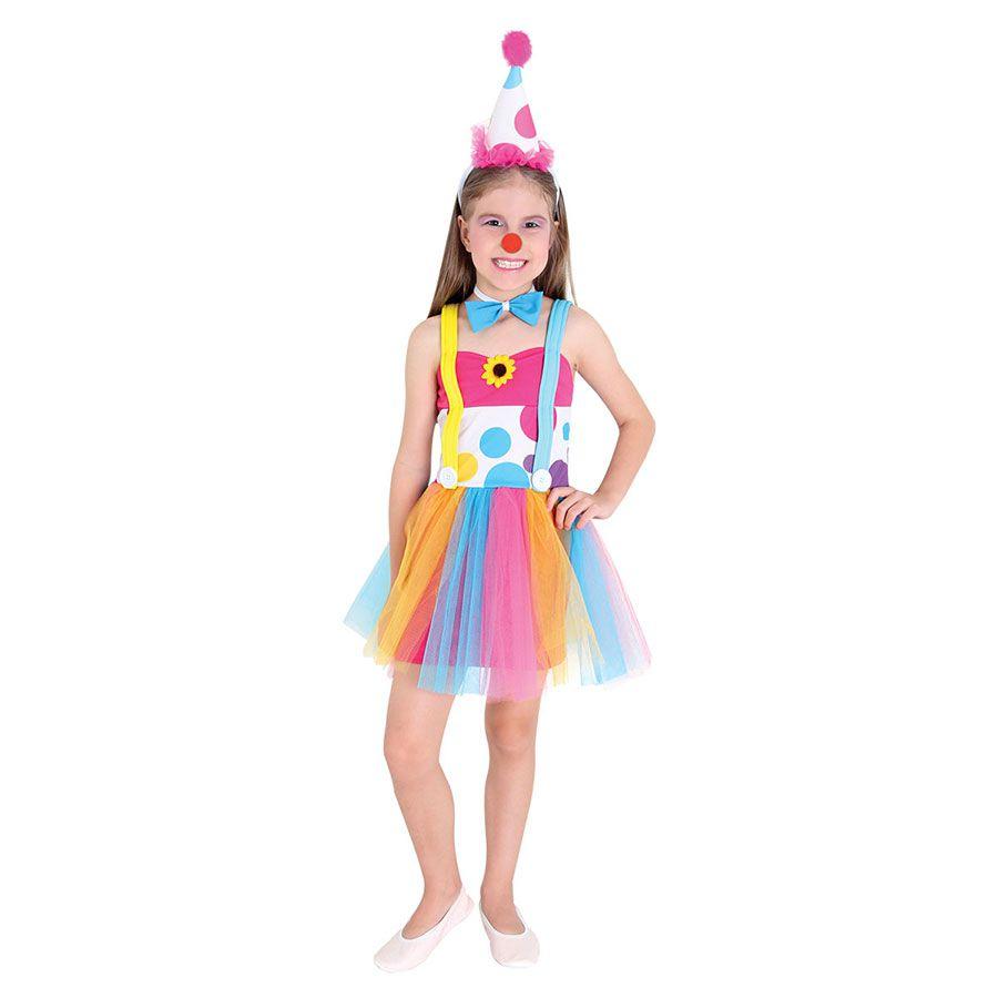 Fantasia Palhacinha Vestido
