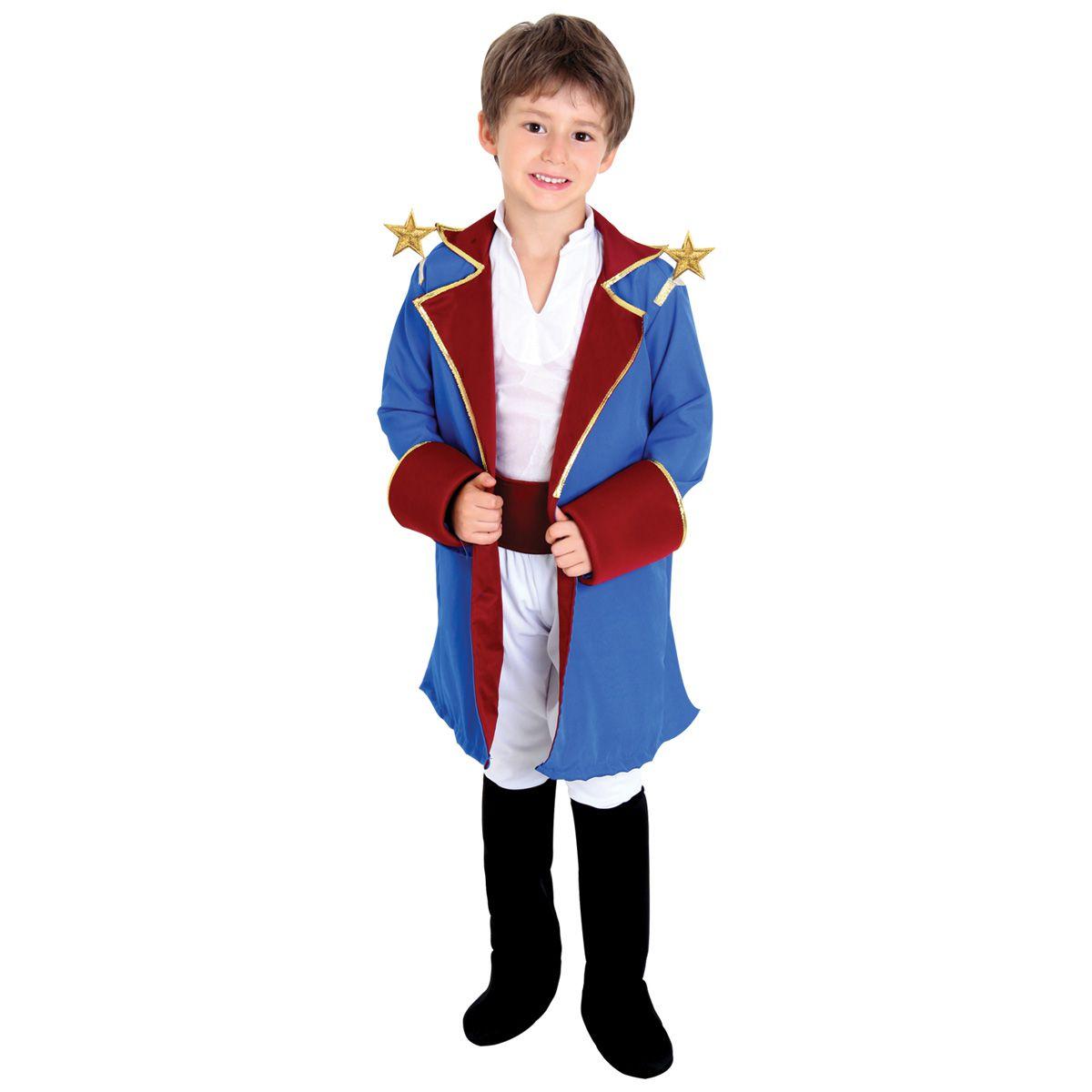 Fantasia Pequeno Príncipe Infantil Luxo
