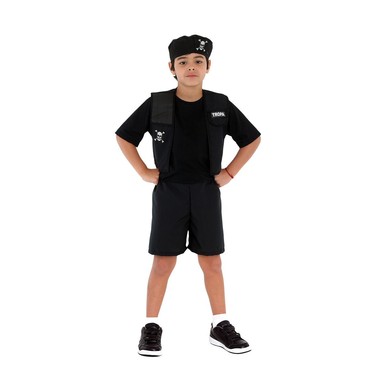 Fantasia Policial Tropa de Elite Infantil