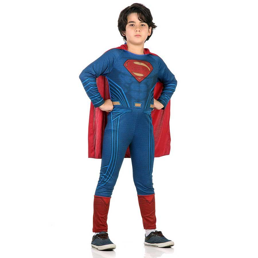 Fantasia Super-Homem Infantil Macacão Longo