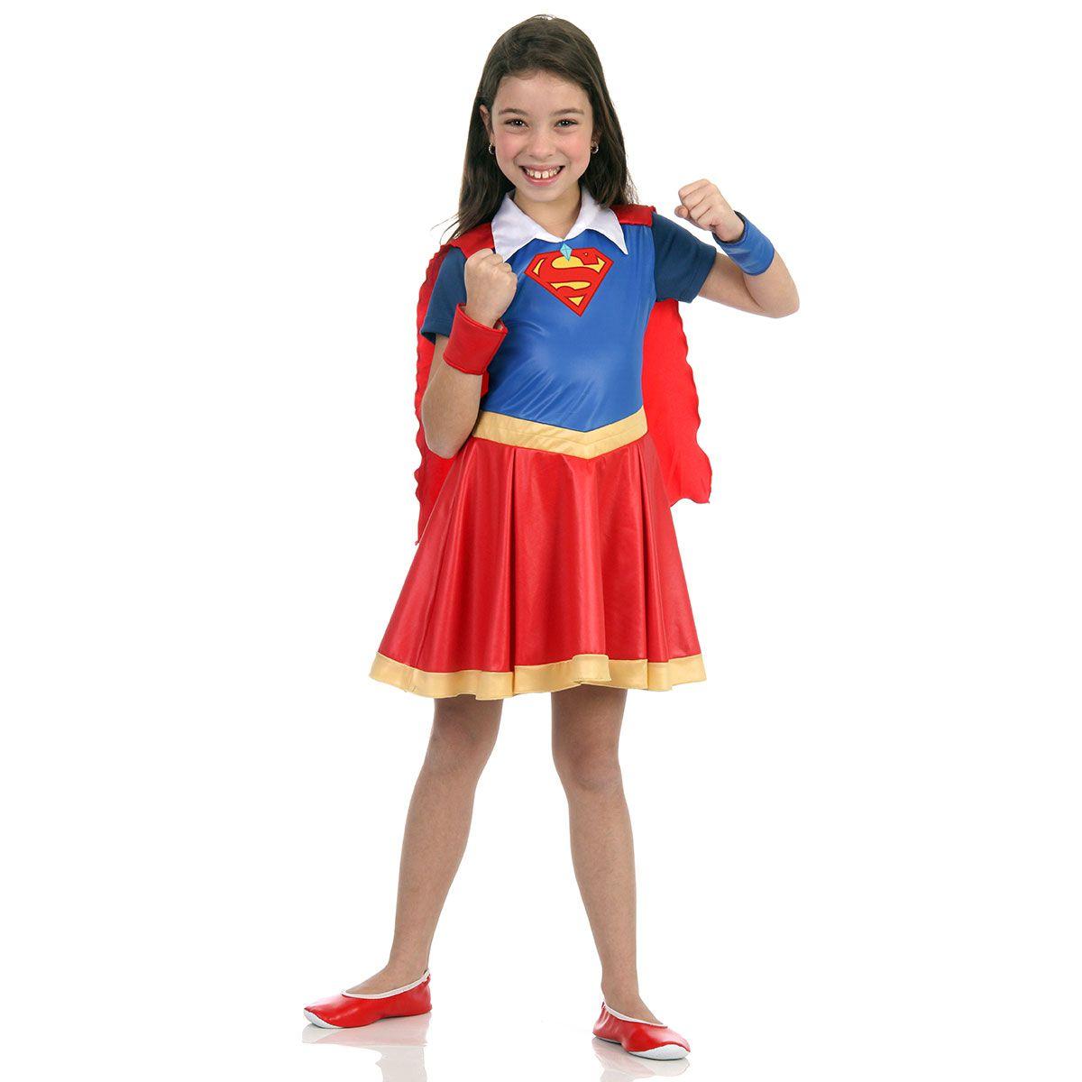 Fantasia Super Mulher DC Super Hero Girls