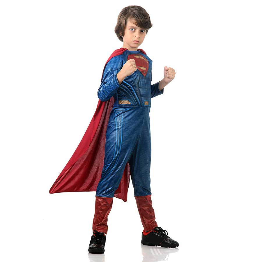Fantasia Superman Luxo