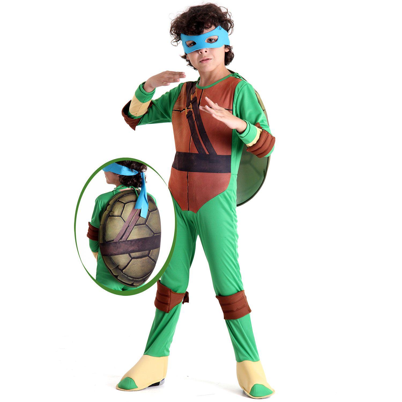 Fantasia Tartarugas Ninjas Leonardo