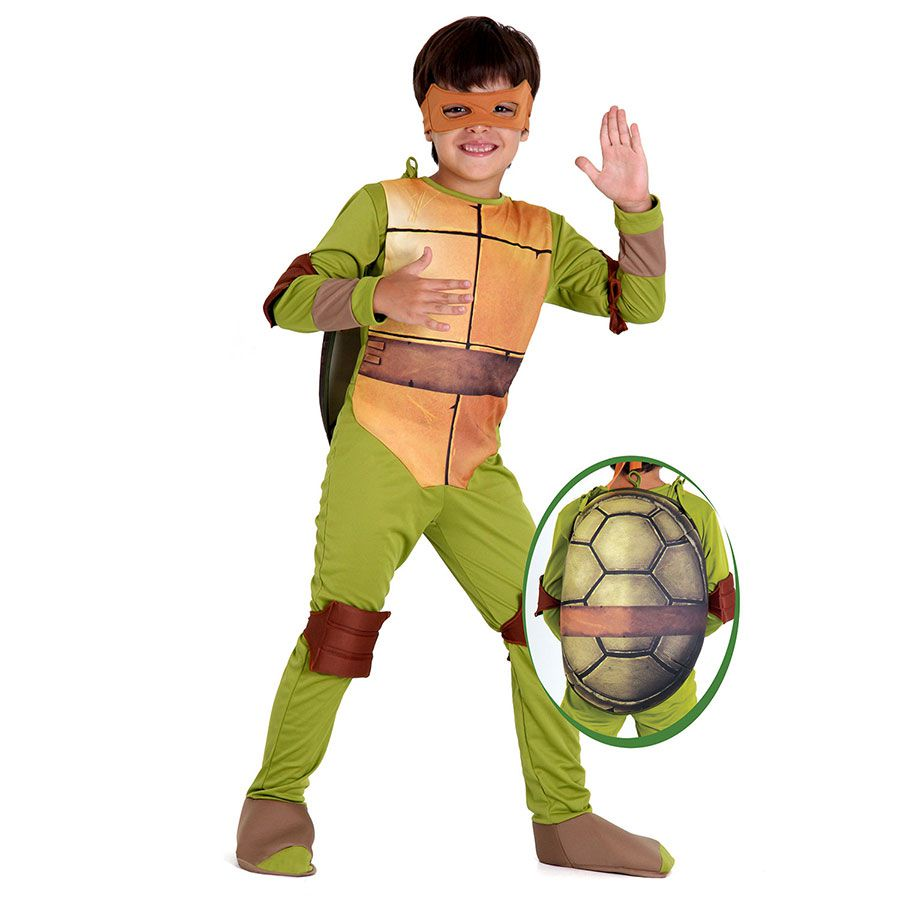 Fantasia Tartarugas Ninjas Michelangelo