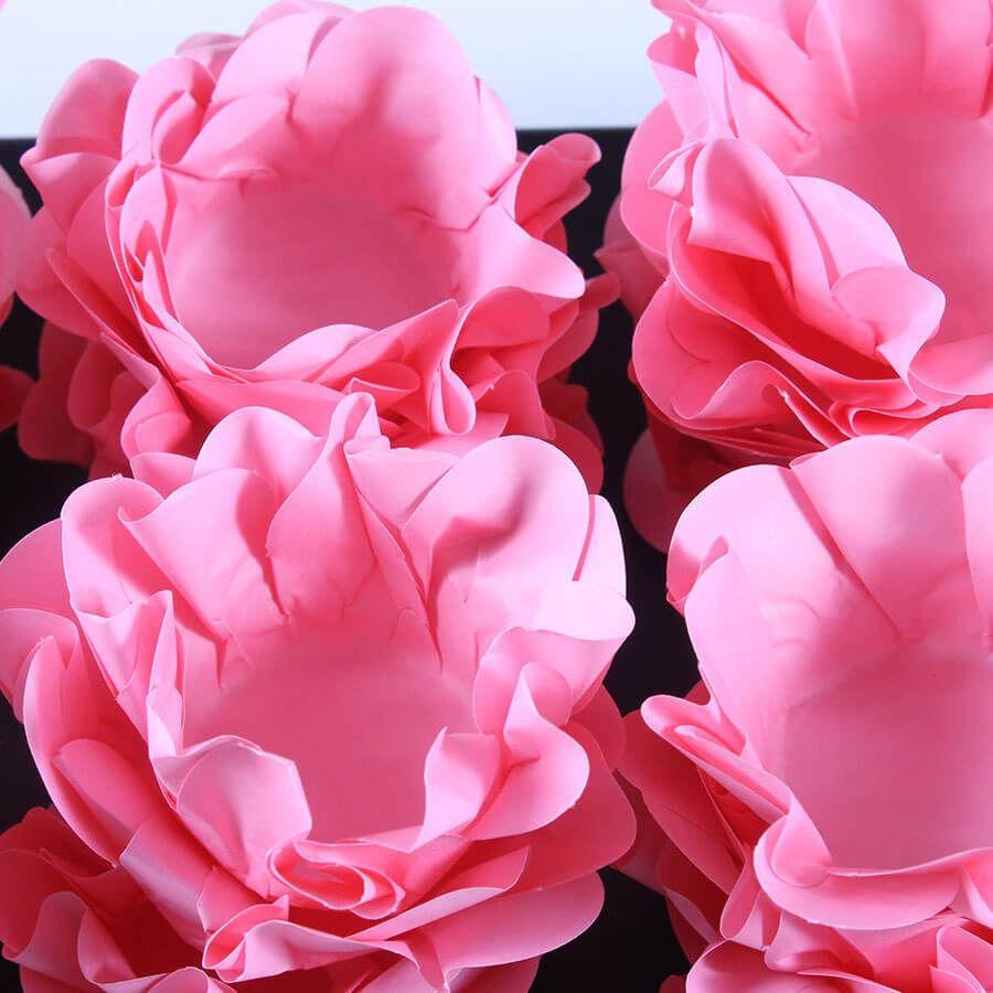 Forminhas P/ Doces Casamento Style Rosa Bebê 360 Un