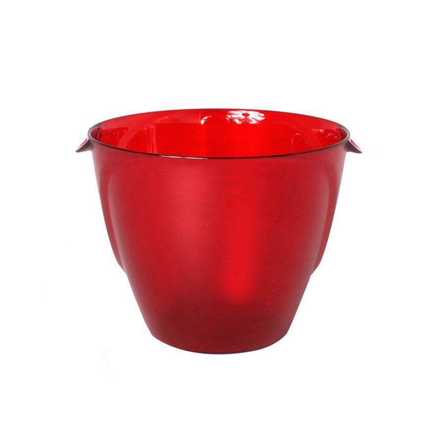 Kit 10 Balde De Gelo 1l Vermelho